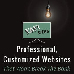 YaySites - Professional, customized websites