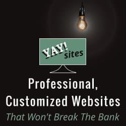 YaySites - Professional, customized websites