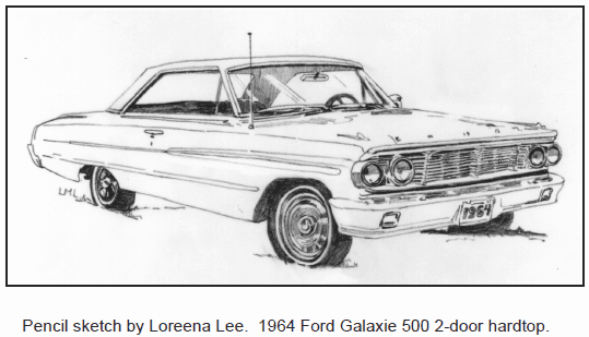 1964 Ford Galaxie 500 2-door hardtop