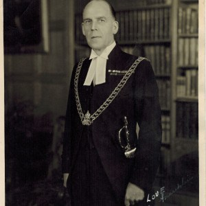 Col. Franklin in his uniform as sergeant-at-arms, house of commons