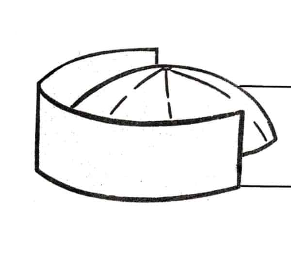 Diagram of our cap