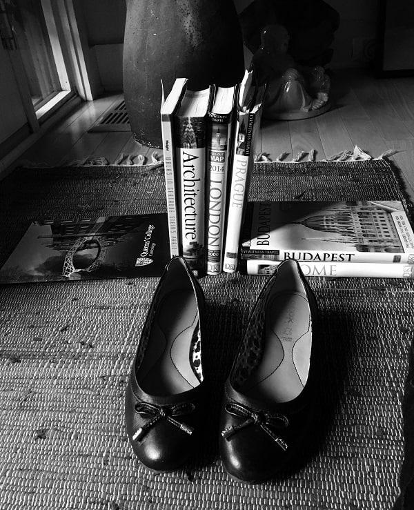 My Black Ballet Flats