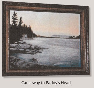 Painting of Causeway to Paddy's Head