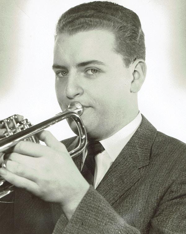 Lloyd Hiscock Playing Trumpet